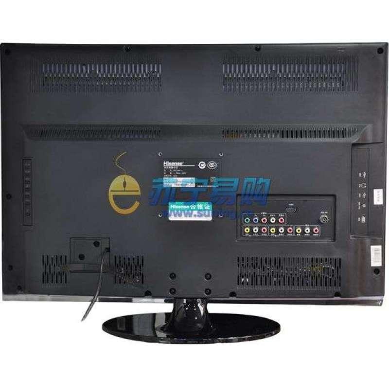 海信led32k16电视直接用网线连接(未通过路由器),手动