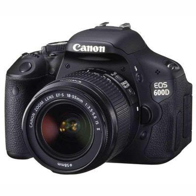 佳能(Canon) EOS 600D 单反套机(EF-S 18-55mm f/3.5-5.6 IS II 镜头)