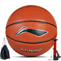 Lining/李寧籃球PU皮街頭籃球CBA比賽通用室外水泥地室內LBQG088-P