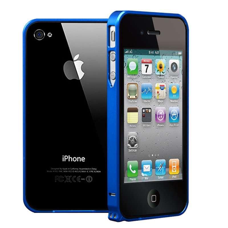 zoyu 新款苹果4手机壳 iphone4s手机壳金属边框 iphone 4边框外壳