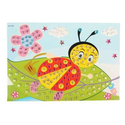 立体纸艺作品步骤图片七星瓢虫