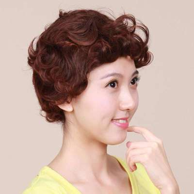 女士假发短卷发  2019年5月28苏宁易购优质商家为您提供假发女短发