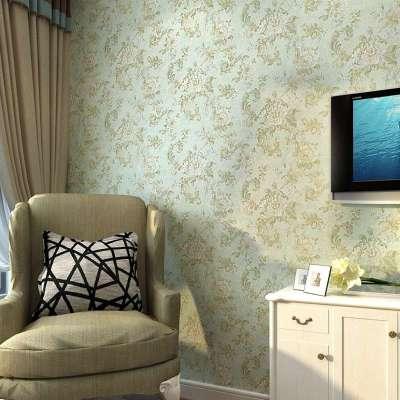 纸尚美学墙纸 欧式复古田园风格x80204无纺布客厅