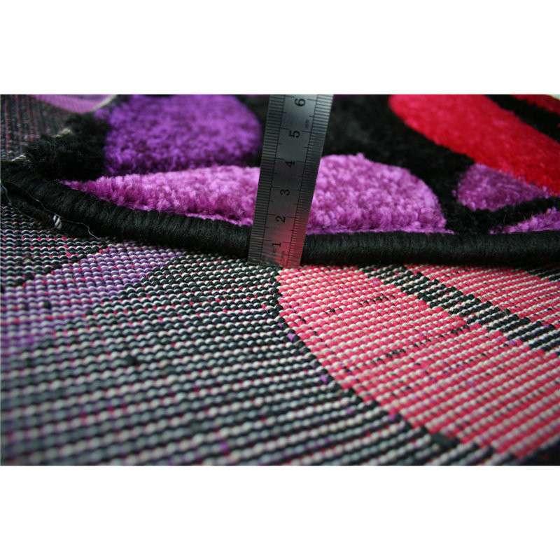 浪漫 温馨 手工剪花 wkmg玫瑰手工剪花地毯 罗兰紫 160*230cm