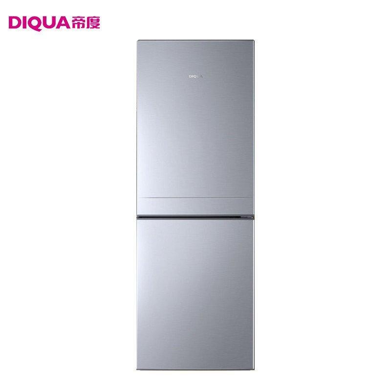 帝度(DIQUA) BCD-188A 188升两门冰箱(亮银横纹)