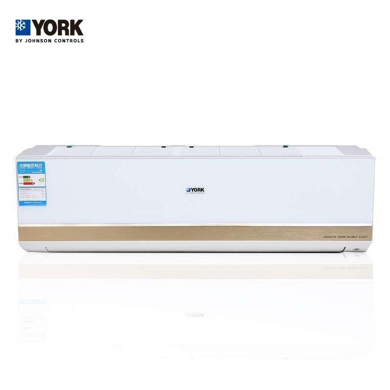 约克(YORK) 1匹 冷暖变频无氟环保二级能效除甲醛挂机空调 YHJH-90A/V2HD