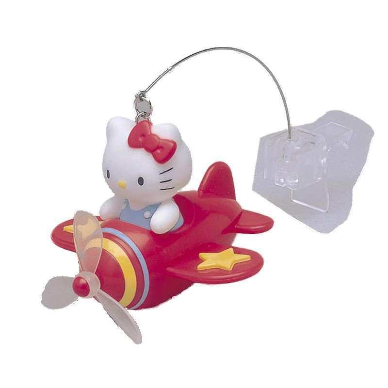 日本hellokitty卡通小飞机出口风芳香剂 香水 香薰(红色)kt182