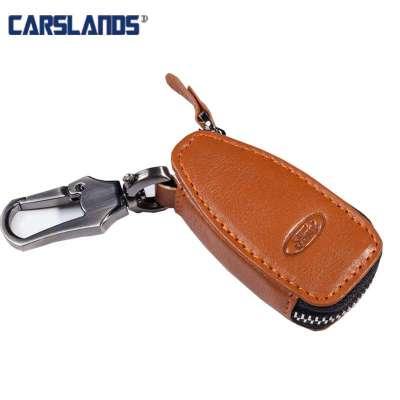 新14款嘉年华福特翼虎翼搏新福克斯致胜专用汽车真皮钥匙包钥匙套