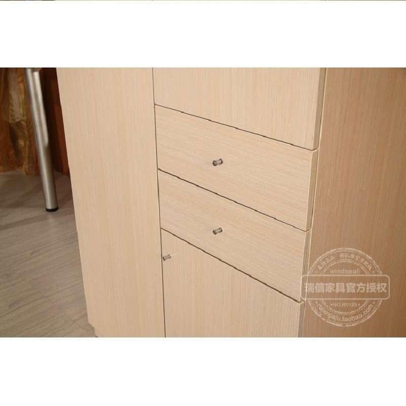 现代时尚简约整体衣柜/两门衣橱/儿童衣柜/单人衣柜 银线木