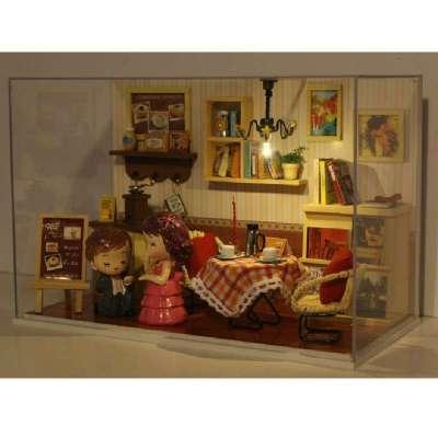 手工拼装迷你模型小房子