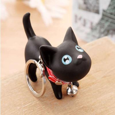 简家 可爱萌猫咪钥匙扣钥匙链创意情侣钥匙圈汽车钥匙