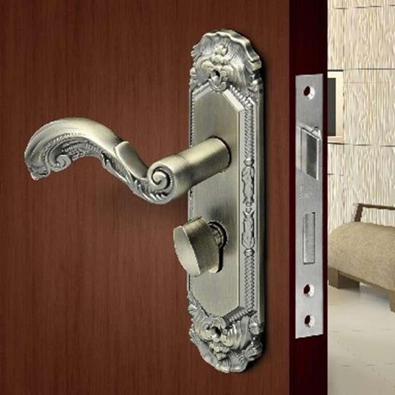 美标门锁静音门锁室内卧室房门锁卫生间把手锁木门锁
