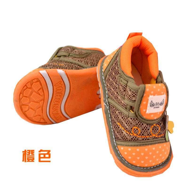 婴儿鞋软底春夏款 男女宝宝婴儿网面透气鞋子 0-1岁 宝宝鞋学步鞋