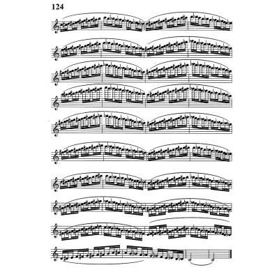 年轮的乐谱长笛