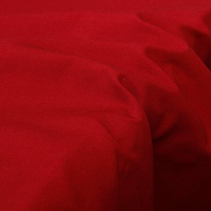 富居016zb纯棉纯色餐桌布 茜红 140x100cm