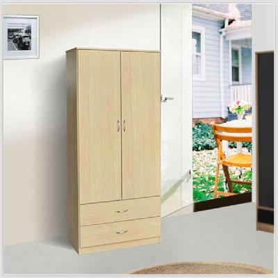 木板式衣柜 衣橱儿童衣柜储物柜/收纳/整理柜子p2011 原木色