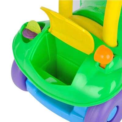 出口欧美 萌宝(cutebaby)婴儿宝宝二合一 学步车 推行车 绿