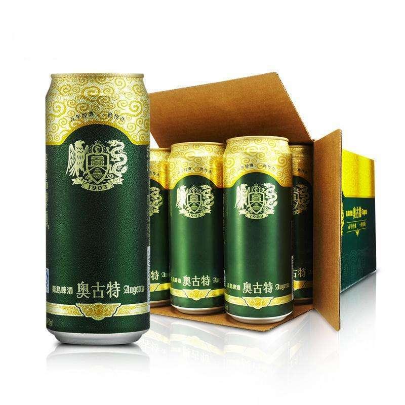 中酒网 啤酒 青岛啤酒奥古特 500ml*12整箱装