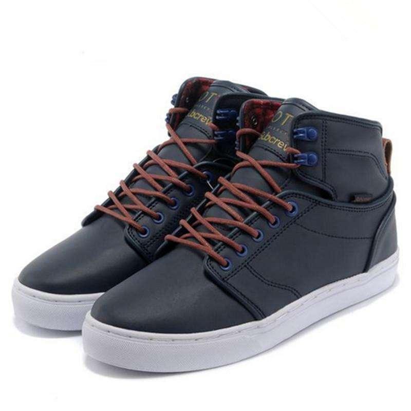 vans/万斯 男士高帮 休闲鞋 滑板鞋144 黑色 42码