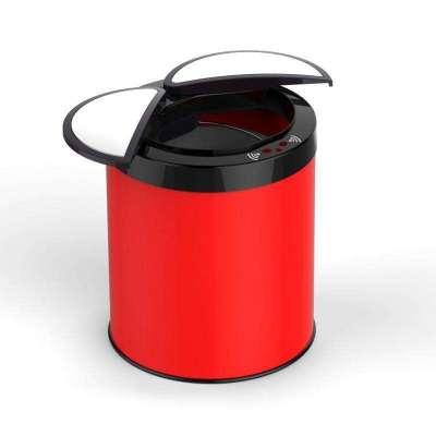 三樱顶级高档烤漆智能感应垃圾桶