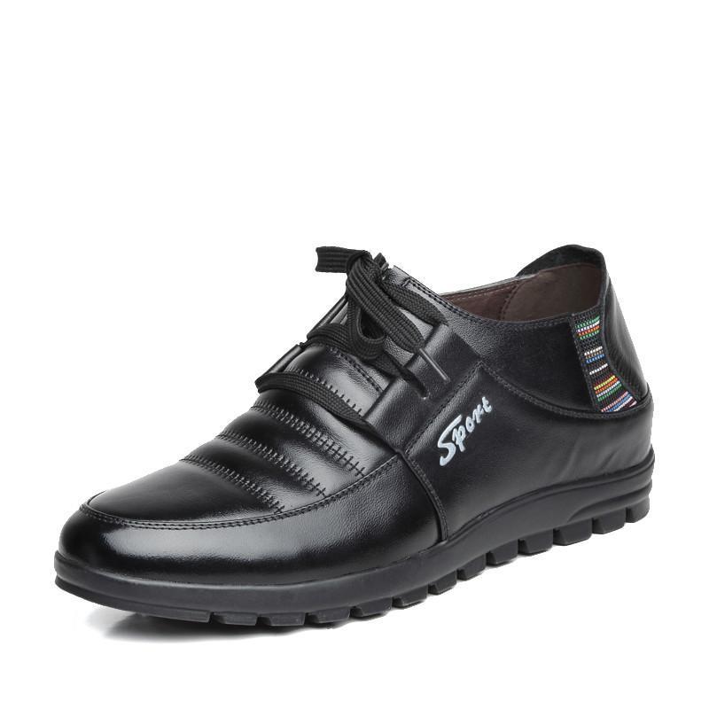 铭爵帝皇 男士休闲商务增高鞋 欧式时尚潮流商务皮鞋x1809 黄色 39码