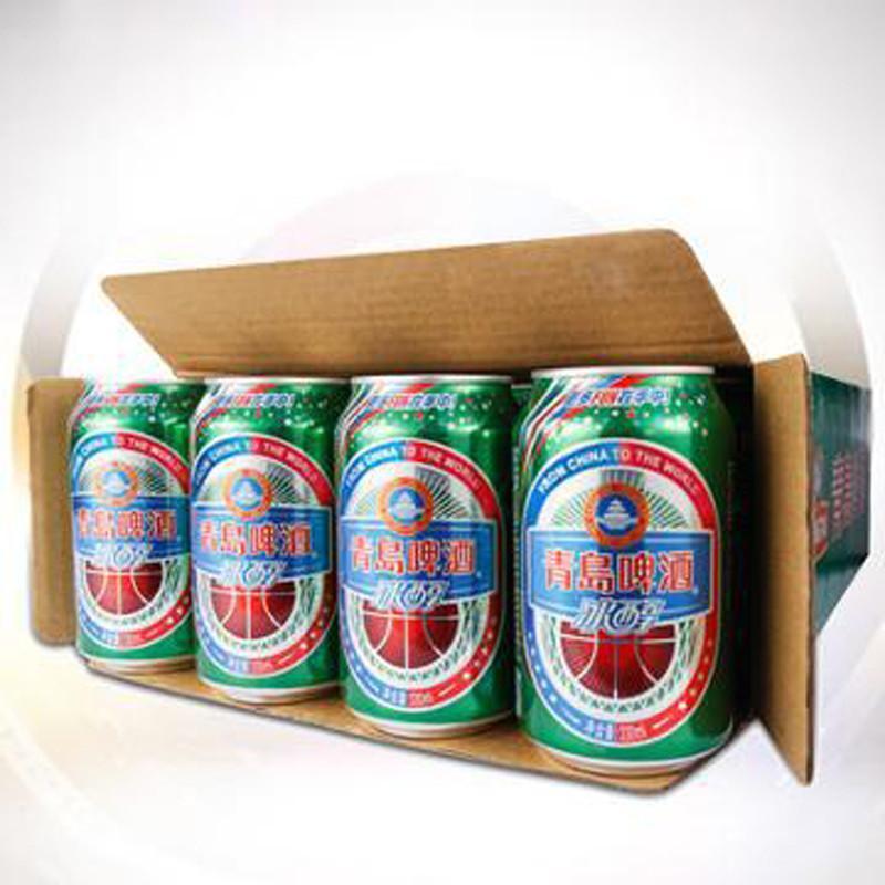 青岛啤酒冰醇10度听装330ml*24高清实拍图