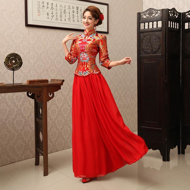 礼服裙红色