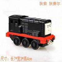 模型托马斯火车头合金正版小骷髅玩具火车狄图纸头cad磁性图片