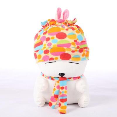安吉宝贝 正版 可爱流氓兔公仔大号兔子毛绒玩具流氓兔抱枕布娃娃送