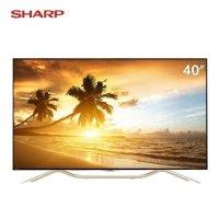夏普(SHARP) LCD-40U1A 40英寸 4K超高清 网络 智能 无线WIFI LED液晶电视