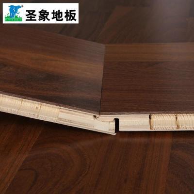 【正品】圣象康逸三层实木复合地板ks8398非洲柚木王