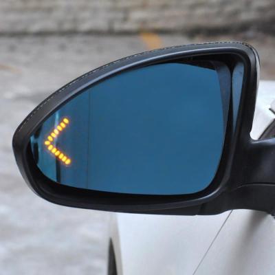 科鲁兹蓝镜专用 科鲁兹后视镜电加热改装