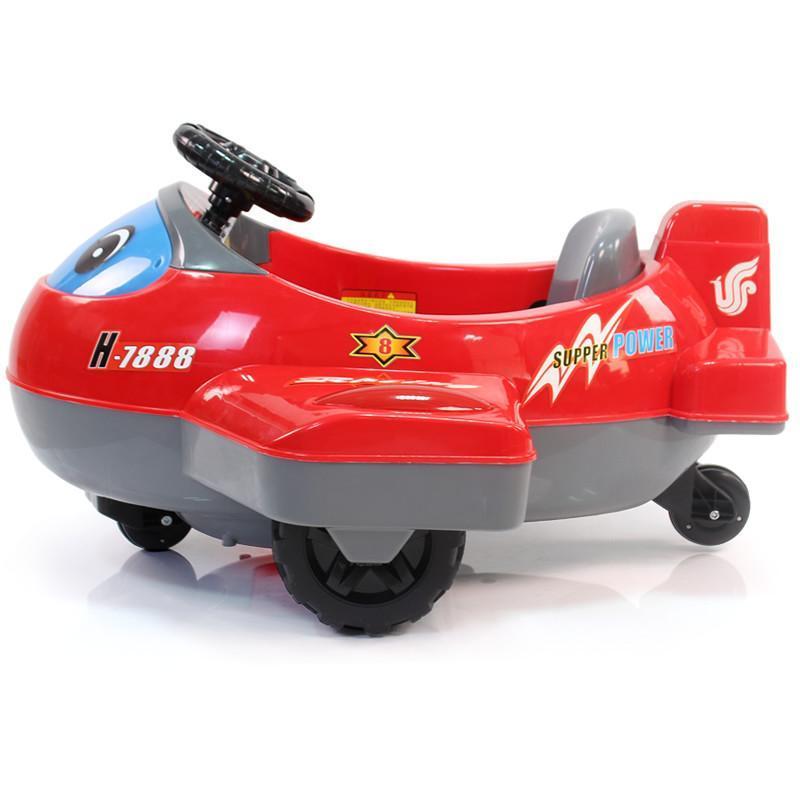 孩子家儿童电动车 电动飞机 遥控车遥控飞机 童车玩具车 可坐320c