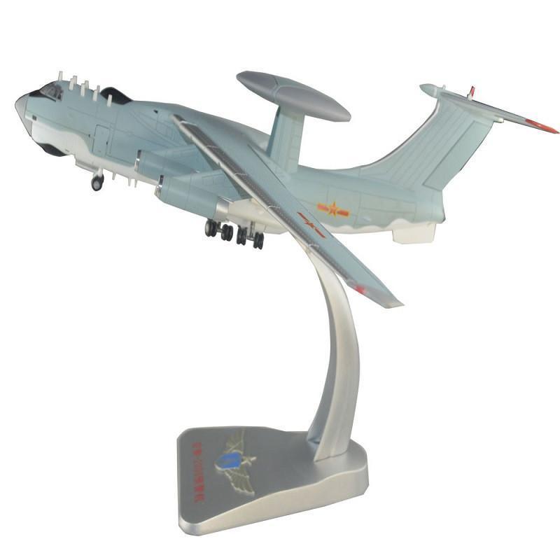 灵境军事模型 飞机模型 合金/航模 1:130 空警2000预警机 静态模型 运