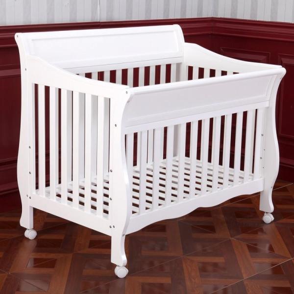 第一站玛尔斯欧式多功能实木婴儿床+ttbaby我想长大7