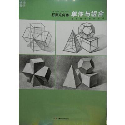 2014正版成功教学系列丛书石膏几何体单体与组合素描