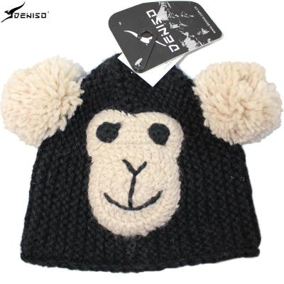 deniso童帽针织帽手工编织帽异形帽毛线卡通帽ds-1146