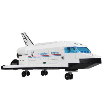 航天飞机拼装积木 儿童早教益智启蒙玩具