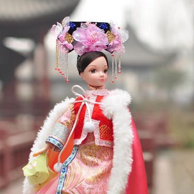 可儿娃娃古代公主系列 古典中国风民族服饰 清朝公主明珠格格/9036
