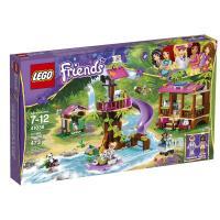 lego乐高friends好朋友系列基地系列41038女孩v基地丛林乐高积木抱毛绒玩具图片