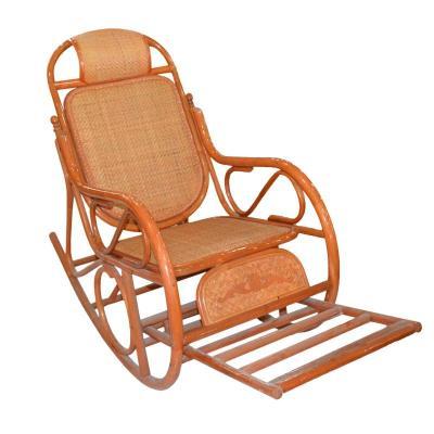 手工制作木头摇椅