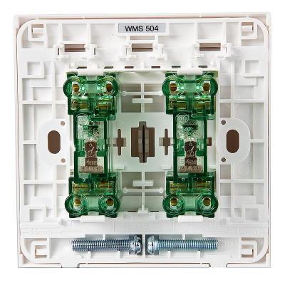 松下开关插座面板 二位双控 松下佳典纯系列开关插座