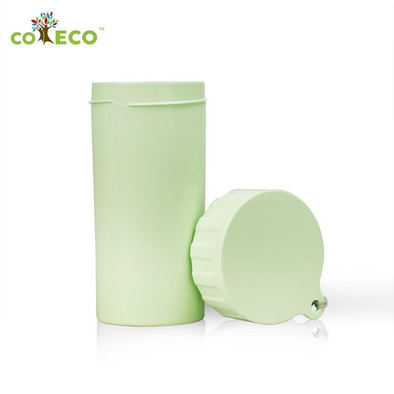 可爱客 coeco艾里德 玉米材质杯子水杯 350ml随身杯 绿色高清实拍图