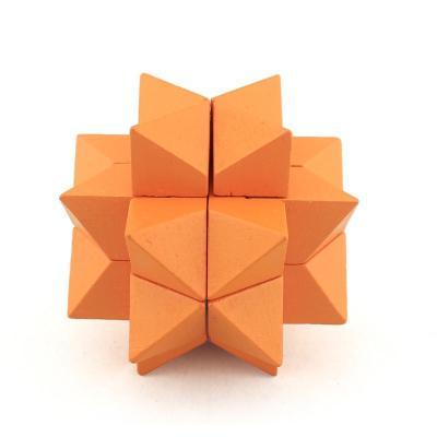 米米智玩 木制益智玩具 孔明锁鲁班锁 亲子互动成人益智玩具 【阿波罗