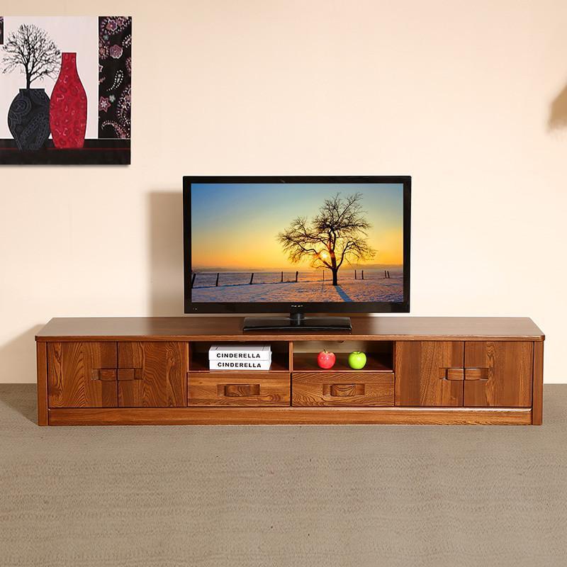 初林中式实木电视柜 中式客厅实木家具 现代中式实木dsg-2伸缩电视柜
