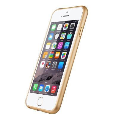mobisysiphone6手机壳手机6plus边框金属梅花保护套苹果扣设计超薄铝挤压件加工图片