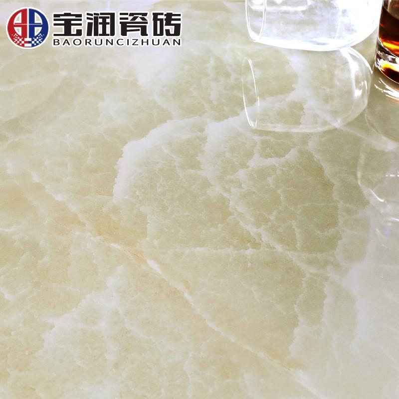 宝润瓷砖 微晶石地砖800x800防滑地板砖客厅电视背景墙欧式凯诺玉高清