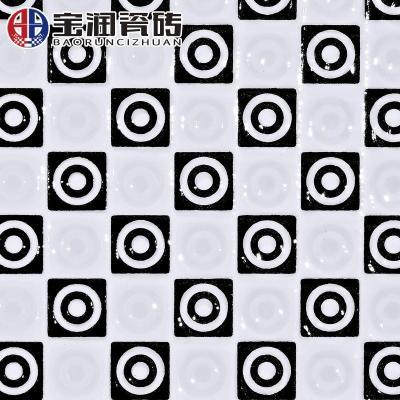 五彩地砖地板砖墙砖卫生间防滑瓷砖浴室