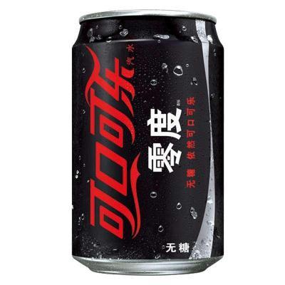 零度无糖可口可乐330ml