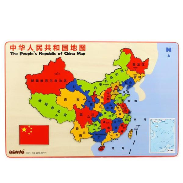 木玩世家 中国地图